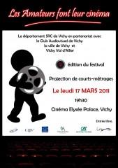 affiche,festival,vidéo,amateur,Vichy